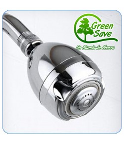 Ducha fija de Ahorro de Agua y Gas 7.6 lt/min