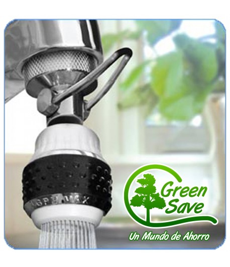 Aireador Ahorro Agua y Gas Lavaplatos con Palanca de Pausa